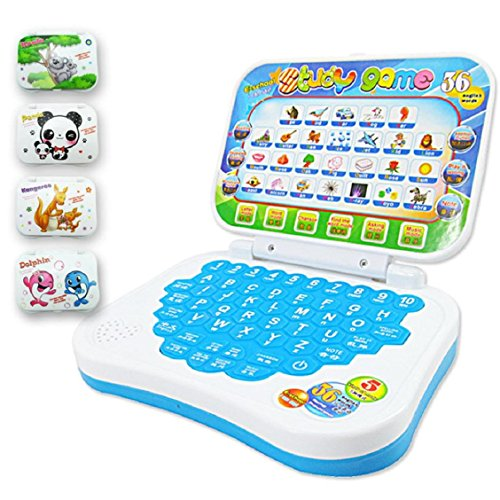 Price comparison product image Naladoo Multifunction Educational Learning Machine English Early Tablet Computer Toy Kid