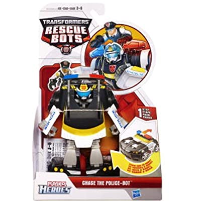 Transformers Rescue Bot - Chase The Police Bot from Transformers