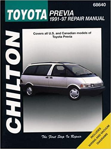 toyota previa 2001 repair manual