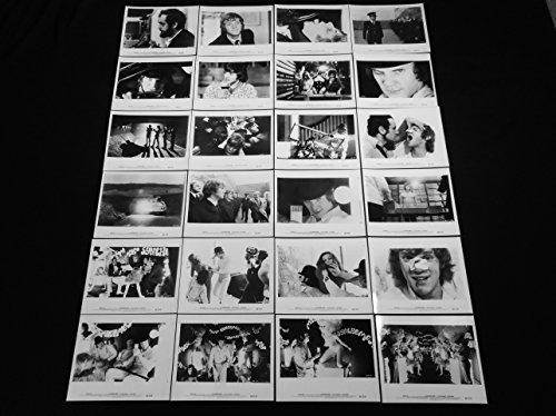1972 Photo B&w - A CLOCKWORK ORANGE 1972 KUBRICK COMPLETE SET OF 24 B&W PHOTOS C10 MINT UNUSED!!