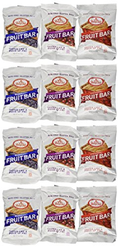 Betty Lou's Fruit Bars 3 Flavor Variety Pack (Pack of ()