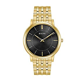 Bulova Men's Classic Ultra-Slim Stainless Steel Watch