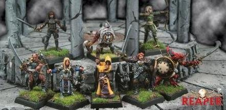 Fantasy Miniatures (Dungeon Explorers by Reaper)