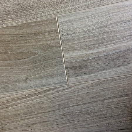 Chene New York Oak Grey Laminate Flooring 8mm V Groove 213m2 Wood