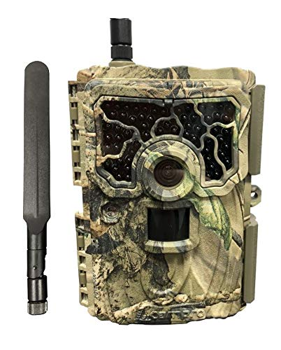1stCampro Enigma Trail Game Camera 20MP 1080P HD Video 4G LTE AT&T Wireless Cellular Waterproof Hunting Scouting Cam with Motion Activated Night Vision for Wildlife Monitoring (Best At&t Camera Phone)