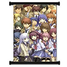 Angel Beats Anime Fabric Wall Scroll Poster (31x43) Inches