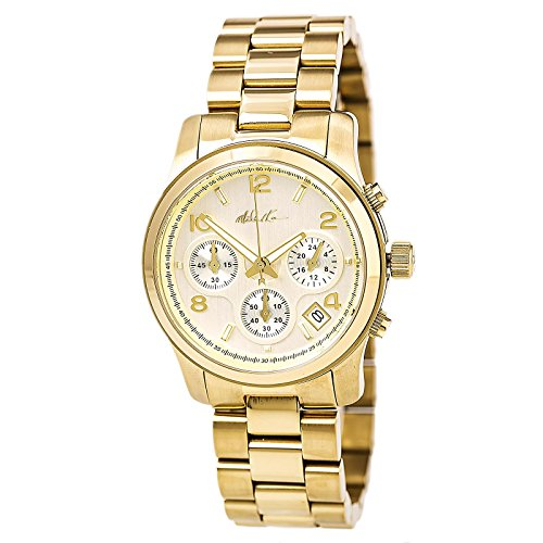 Michael Kors Runway Oversized Chronograph Two-Tone Mens Watch MK8283