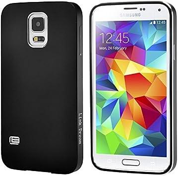 Cubiertas alta calidad, Referencia Dream Fashion metal estuche protector para Samsung Galaxy S5 / i9600 (Color : Negro) : Amazon.es: Electrónica