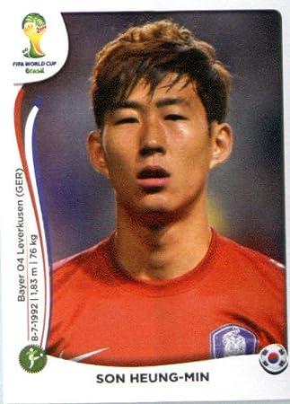 promo code b88d3 f9ea7 2014 Panini World Cup Soccer Sticker # 635 Son Heung-Min ...