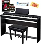 Casio Privia PX-160 Digital Piano - Black Bundle with CS-67 Stand,...