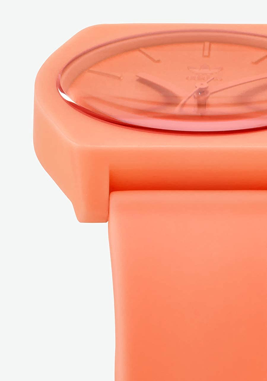 adidas Watches Process_SP1. Silicone Strap, 20mm Width (38 mm). Semi-Coral