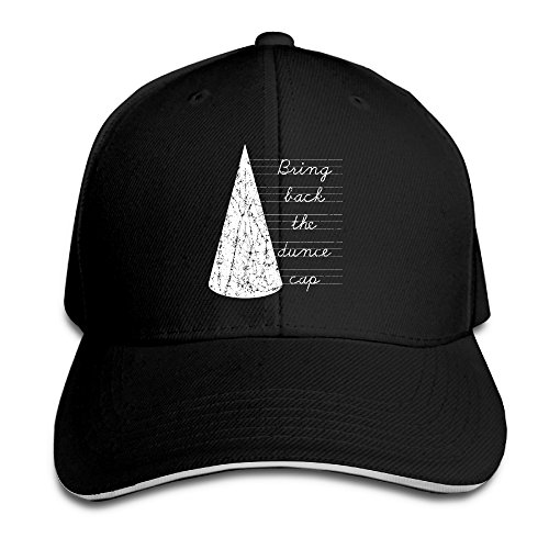 Thick Bring Back The Dunce Cap One Size Fits All Woman Snapback Hats (40 Lb Kettle Ball compare prices)