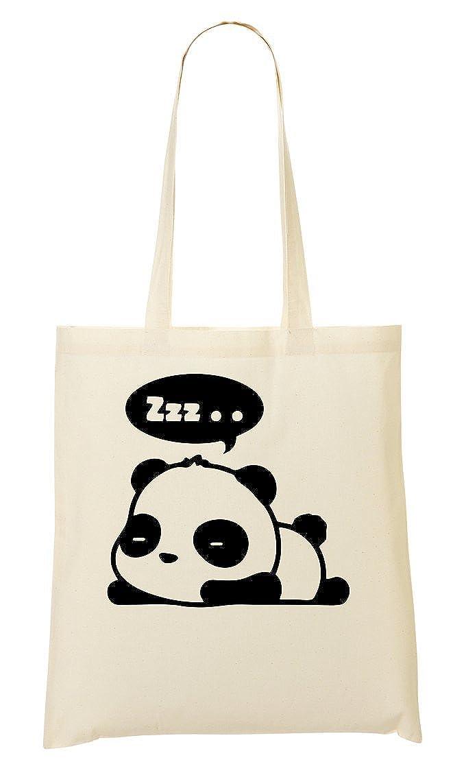 ToteWorld Sleepy Panda Zzzz Funny Sac Fourre-Tout Sac /À Provisions