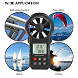 LIUMY Digital Anemometer Handheld with Durable
