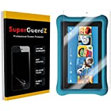 [3-Pack] Fire HD 8 Kids Edition (7th Gen, 2017) Screen Protector - SuperGuardZ, Anti-Glare, Matte, Anti-Fingerprint, Anti-Scratch, Also Fit For Fire HD 8 (7th Gen, 2017) [Lifetime Replacement]