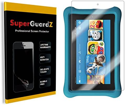 // Kids 3X SuperGuardZ Clear Screen Protector For Amazon Fire 7 9th Gen, 2019