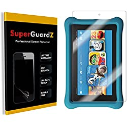 [3-Pack] Fire HD 8 Kids Edition (7th Gen, 2017) Screen Protector - SuperGuardZ, Anti-Glare, Matte, Anti-Fingerprint, Anti-Scratch, Anti-Bubble [Lifetime Replacement]