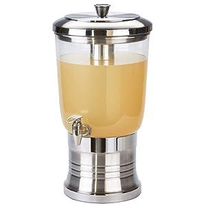 Cal Mil 22003-3-55 3 Gallon Beverage Dispenser, Stainless Steel