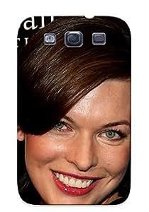 Design For Case Samsung Galaxy S4 I9500 Cover Premium PC Milla Jovovich Protective Case