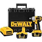 DEWALT DC822KL 18-Volt 1/2-Inch Lithium-Ion Cordless Impact Wrench with NANO Technology