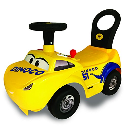 Carrito Montable Kiddieland Cars 3 Cruz con luces y sonidos, Cruz Activity Ride-on