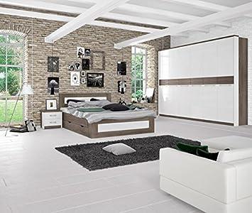 Schlafzimmer Komplett Set I Lepa 5 Teilig Farbe Eiche