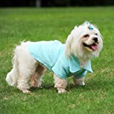 Blue Pet Dog Dresses Elegant Puppy Skirts For Holiday Festival Wedding Party Wear Pets Animals Dress
