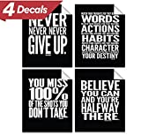 #8: Motivational Quote Workout Gym Poster - 8