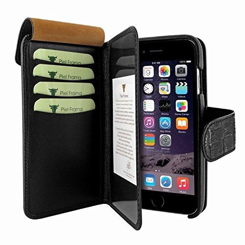 Piel Frama 716 Black Crocodile WalletMagnum Leather Case for Apple iPhone 6 / 6S by Piel Frama (Image #4)