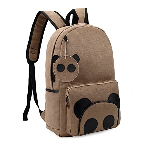 BIBITIME Canvas Backpack Lightweight Bookbags product image