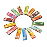 Vanvler Smoking Rolling Papers Flavored Cigarette Maker 5Pcs 110/44MM (Random Color)