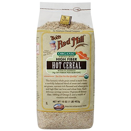 Bobs Red Mill Cereal Hot High Fiber Original, 16 oz
