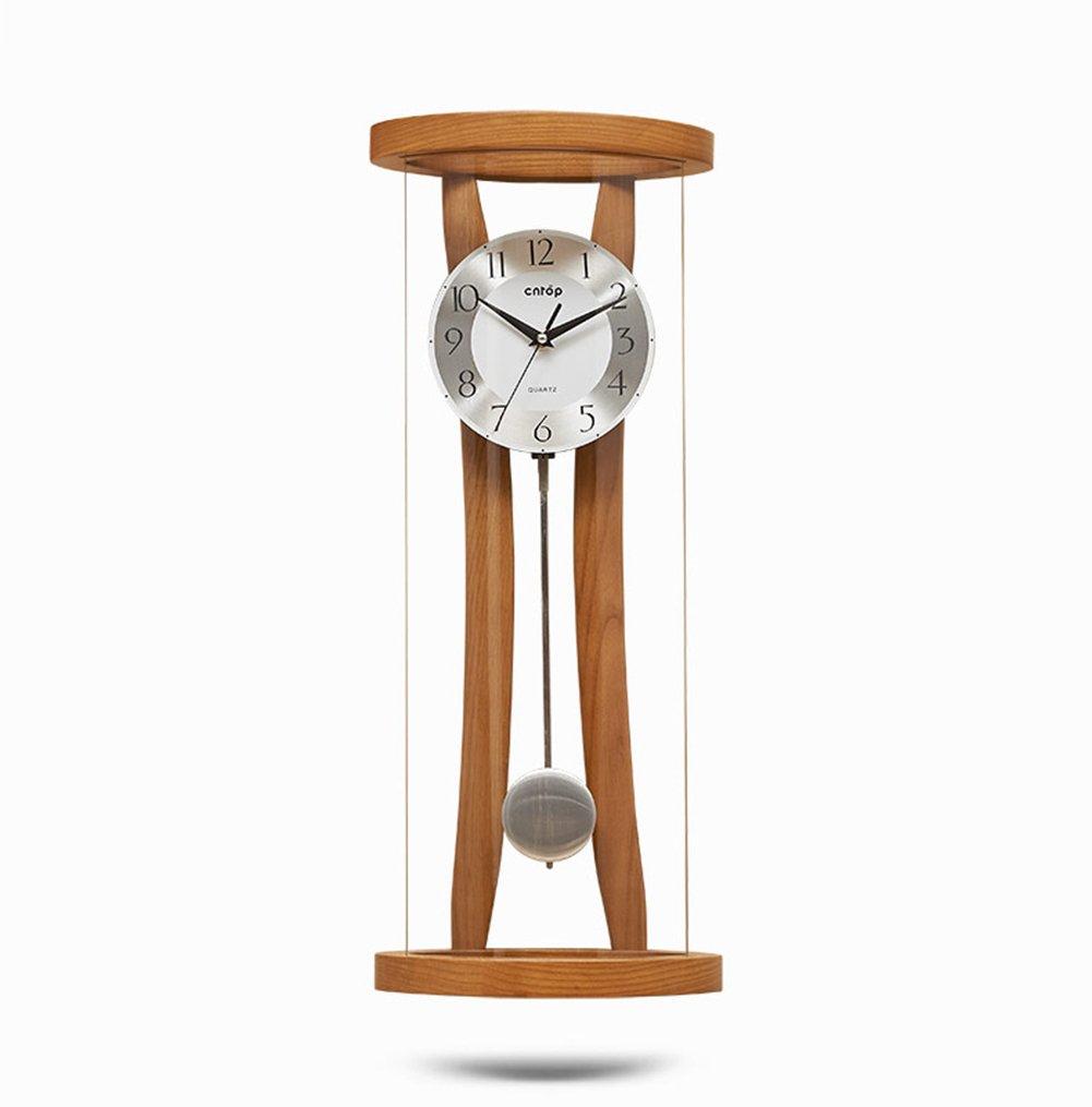 リビングルームミュートウォールクロックヴィンテージウォールクロックダイニングルーム、ラウンジ、廊下、キッチン用クォーツムーブメント振り子時計 B07DNYSQNL