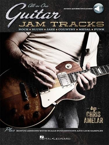 Hal Leonard All-In-One Guitar Jam Tracks - Book with Online Audio Tracks -