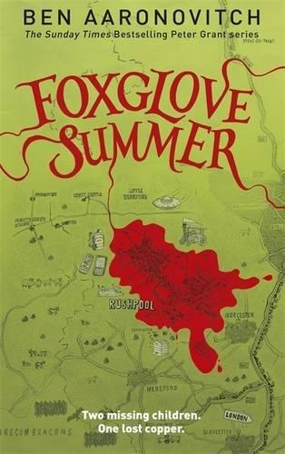 book cover of Foxglove Summer