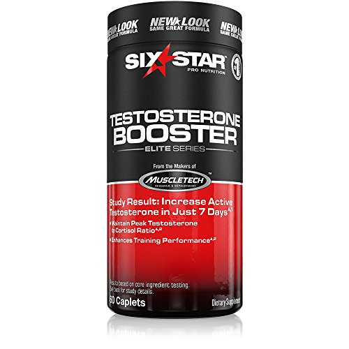 Six Star Testosterone Booster, Caplets, 60 ea