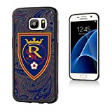 Keyscaper MLS Real Salt Lake Paisley Bump Case for Galaxy S7, Black