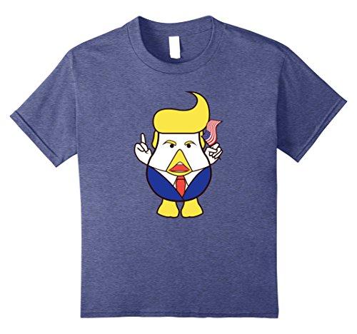 Trump Chicken Never Trump Face Funny Anti Trump Resist Shirt