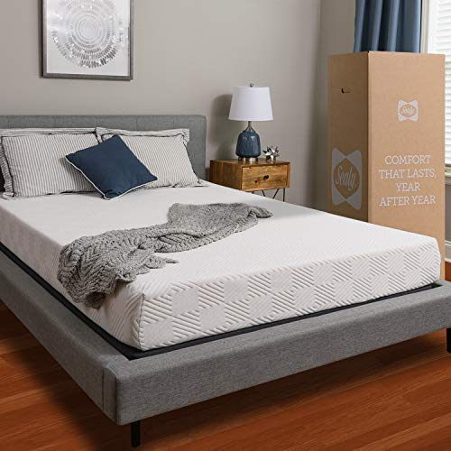 - Sealy, 8-Inch, Memory Foam bed in a box, Adaptive Comfort Layers, Medium-Firm Feel, Full
