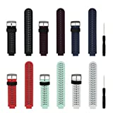 Replacement Smart Wrist Watch Accessory Band Strap for Garmin Forerunner 220/230/235/620/630/735XT, One Size
