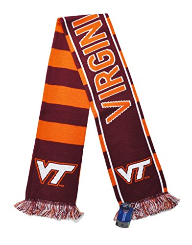 (Official Virginia Tech Hokies Knitted Scarf)