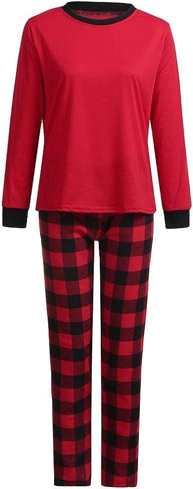 cinnamou Pijama Familiar NavideñO, Conjunto De Pijama para ...