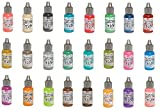 Tim Holtz and Ranger Distress Oxide Ink - Complete Set of 24 Reinkers (ink pads sold separately)