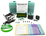 Ultimate Coding and Circuit Kit for Kids 10,11,12,13,14,15 Including Sensors, LCD Screen, and Access to Over 75 Online Projects for Boys and Girls to Learn Programming Skills