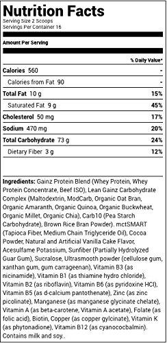 Betancourt Nutrition Lean Gainz Whey Protein, Vanilla Creme, 5 Pounds by Betancourt Nutrition (Image #2)