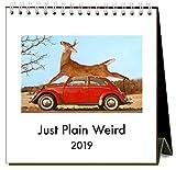 Just Plain Weird 2019 Easel Desk Calendar by Found Image Press