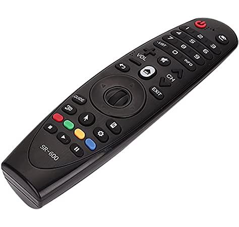 LG Magic Control AN-MR19BA - Mando a distancia (añade Amazon Alexa a tu tele LG, Reconocimiento de voz, apunta y navega, rueda de scroll, botones Netflix y Amazon, teclado numérico) color Negro: