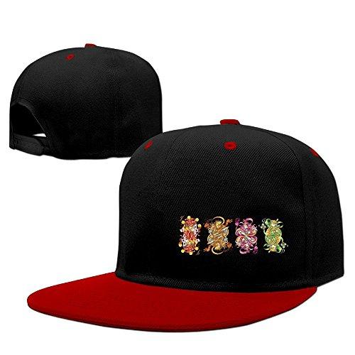 Youth Unisex Flat Bill Hip Hop Hat Baseball Cap Poker Kings Regina Snapback Fashion Adjustable Bill Brim Trucker - Stores Hunting Regina In