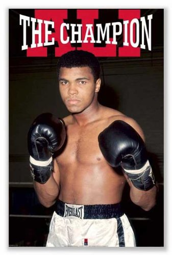 Ali Champion Poster Art Print product image