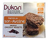 Dukan Diet Oat Bran Chocolate Hazelnut Bars, 4.4 Ounce